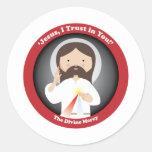 Divine Mercy of Jesus Sticker