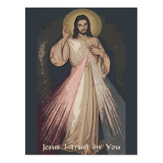 Divine Mercy Postcard