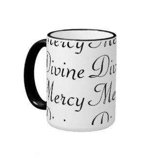 Divine Mercy Ringer Coffee Mug