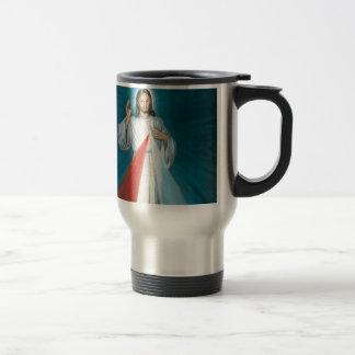divine mercy travel mug
