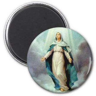 Divine Mother 2 Inch Round Magnet