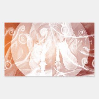 Divine Mystery.jpg Rectangular Sticker
