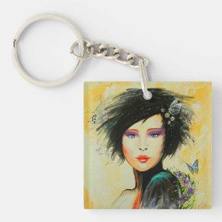 Divine Olivia Acrylic Keychain