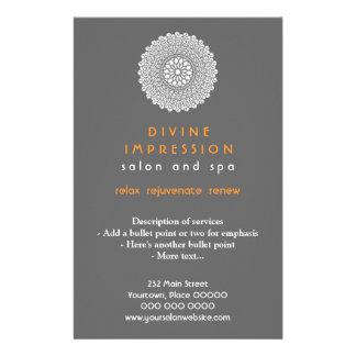 Divine Orange Impression Vertical Flyer