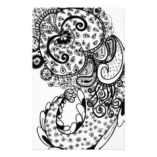 Divine Paisley Stationery Paper