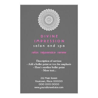 Divine Pink Impression Vertical Flyer
