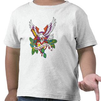 Divine Protection Eagle Tattoo T-shirts
