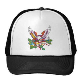 Divine Protection Eagle Tattoo Trucker Hat
