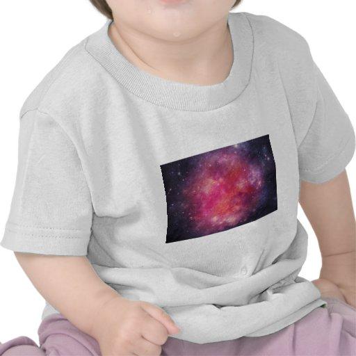 Divine Purple Galaxy Tee Shirts