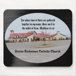 DIVINE REDEEMER CATHOLIC CHURCH-MOUSEPADS MOUSE PAD