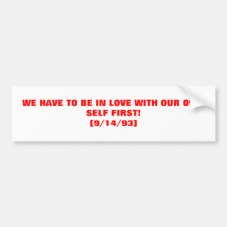 DIVINE SAYINGS OF THE HOLY SPIRIT #103 BUMPER STICKER