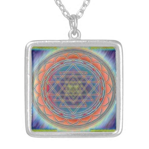 Divine Sri Yantra12 Necklace