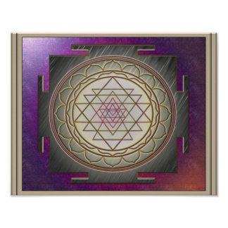 Divine Sri Yantra6 Poster