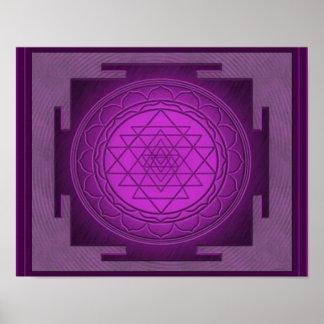 Divine Sri Yantra7 Poster