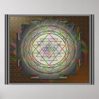Divine Sri Yantra9 Poster