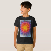Divine Sun Spiritual Art T-Shirt