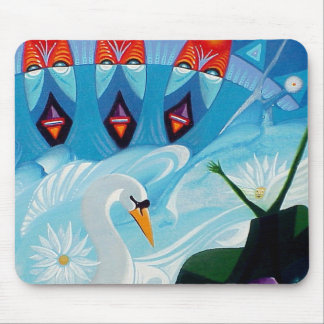 Divine Time by Gregory Gallo Mouse Pad