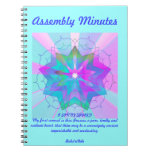 Divine Unity Notebook for Assembly Minutes