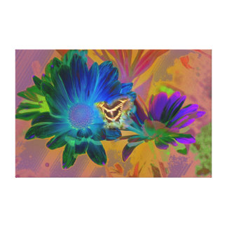 Divine visitor gallery wrapped canvas