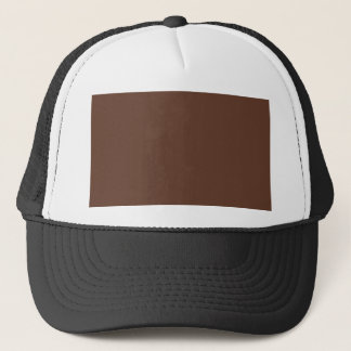 Divinely Confectionary Brown Color Trucker Hat