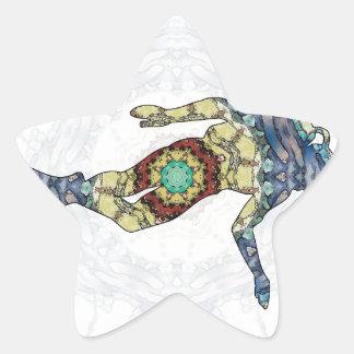 Diving 01 star sticker