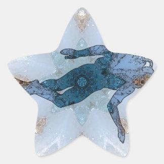 Diving 02 star sticker
