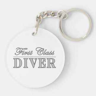 Diving and Divers : First Class Diver Keychains