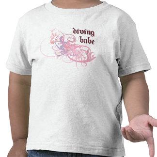 Diving Babe Tshirt