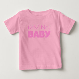 Diving Baby Girl T-shirts & Infant One Piece