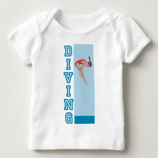 Diving Baby T-Shirt