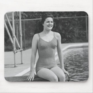 Diving Board Mouse Pad