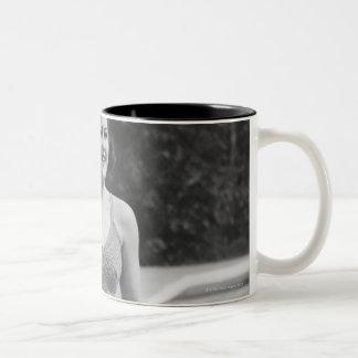 Diving Board Two-Tone Coffee Mug