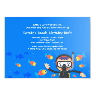 Diving Buddy Invitation