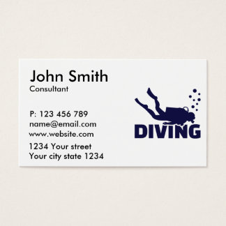 Diving Business Card