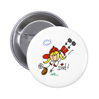Diving Catch Button