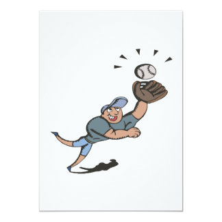 Diving Catch Card