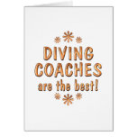 Diving Coaches are the Best Greeting Card