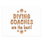 Diving Coaches are the Best Post Cards