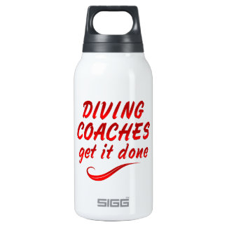 Diving Coaches Get it Done Insulated Water Bottle