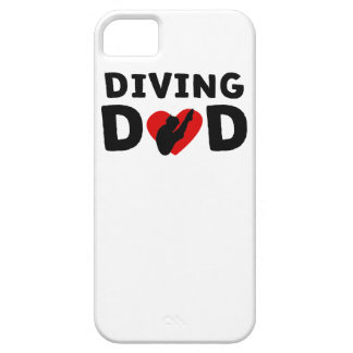 Diving Dad iPhone 5 Cases