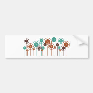 Diving Daisies Bumper Stickers