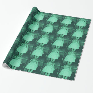 Diving Date Wrapping Paper