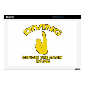 diving DESIGNS Decal For Laptop