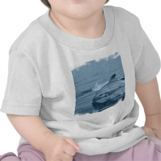 Diving Dolphin Baby T-Shirt