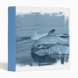 Diving Dolphin Binder