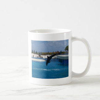 Diving Dolphin Coffee Mug