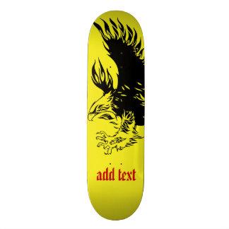 diving eagle skateboard deck