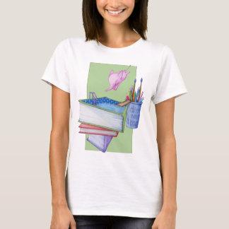 Diving Elephant Ladies T-shirt