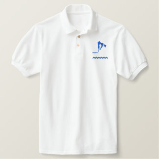 DIVING EMBROIDERED POLO SHIRT