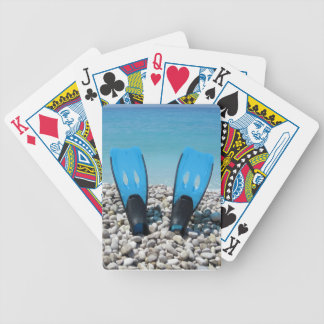 Diving Fins Playing Cards